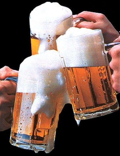 3 beers